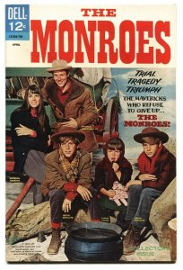 Monroes #1 1967 Dell comic book TV VF+