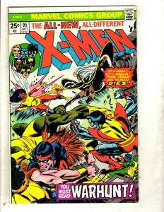(Uncanny) X-Men # 95 NM Marvel Comic Book Wolverine Storm Beast Colossus GK1