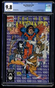 New Mutants #100 CGC NM/M 9.8 White Pages 1st X-Force!