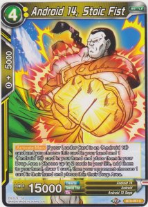 Dragon Ball Super CCG - Universal Onslaught - Android 14 Stoic Fist