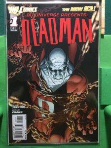 DC Universe Presents: Deadman #1 The New 52