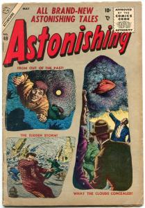 Astonishing #49 1956-Atlas Silver Age- Flying Saucer- VG