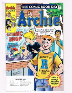 Archie # 1 NM Archie Comic Books Free Comic Book Day Edition WOW!!!!!!!!!!!! SW3