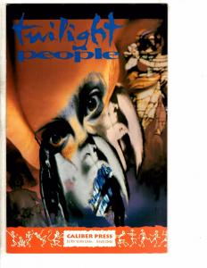 Lot Of 9 Caliber Comic Books # Playground Twilight People LOST Burn + MORE J227