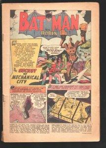 Batman #114 1958-DC-Bat-ape appears-full page ad for Lois Lane #1-robot story...