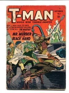 T-MAN #7-1952-REED CRANDALL G