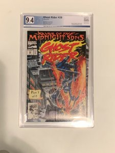 CGC 9.8 X-over From PGX 9.4 Ghost Rider #28 Marvel  NM/M Rare! HOT