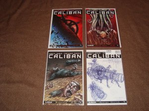 CALIBAN 1, 2, 3 PLUS VARIANTS (2014 AVATAR) GARTH ENNIS