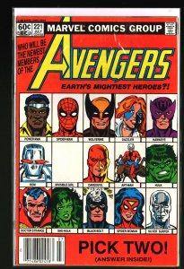 The Avengers #221 (1982)