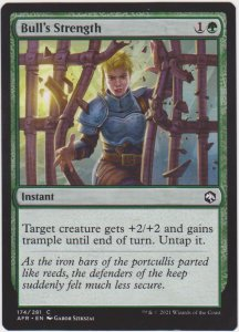 Magic the Gathering: Adventures in the Forgotten Realms - Bull's Strength