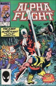 Marvel ALPHA FLIGHT (1983 Series) #17 FN
