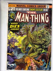 Man-Thing #10 (Nov-74) NM- High-Grade Man-Thing