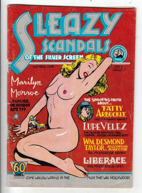 Sleazy Scandals #1 (Jan-74) VG/FN Mid-Grade Fatty Arbuckle, Lupe Velez, Wm.De...