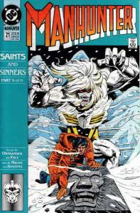 Manhunter (2nd Series) #21 FN; DC | save on shipping - details inside