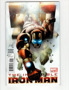 Invincible Iron Man #500 (VF/VF+) ID#MBX1