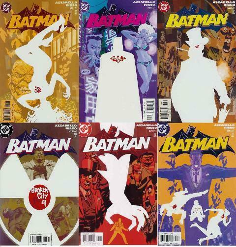 BATMAN 620-625  Broken City complete 6-part story!