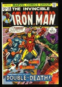 Iron Man #58 VF/NM 9.0