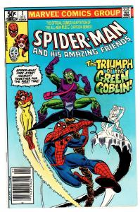 Spider-Man and his Amazing Friends #1-1980-First FIRESTAR-Comic Book NM-
