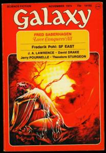 Galaxy Pulp November 1974- Steve Fabian cover- Pohl