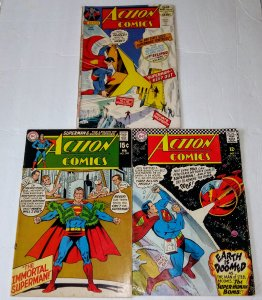 Action Comics - Silver & Bronze Age Comic Lot of (3) see more lots CL#053