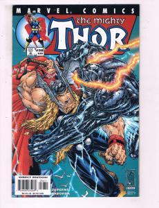 The Mighty Thor #36 VF Marvel Comics Comic Book Jurgens DE15