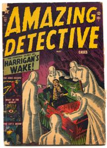 Amazing Detective Cases #12 1952- Atlas Pre-Code Horror- Krigstein