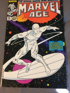 Marvel Age #52 NM (1987) Silver Surfer