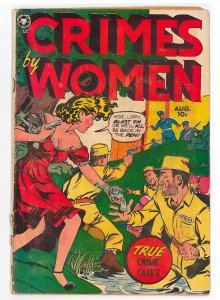 Crimes by Women (1948) #15 VG Hard to find