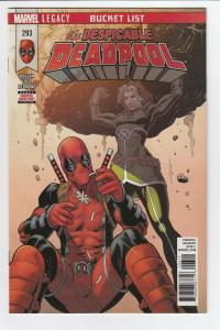 DESPICABLE DEADPOOL (2017 MARVEL) #293-