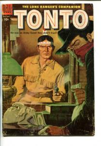 TONTO #19-1955-WESTERN-THE LONE RANGER'S COMPANION-vg