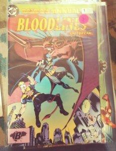 BATMAN SHADOW OF THE BAT ANNUAL # 1 1993 DC OUTBREAK aliens