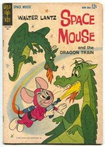 Space Mouse #3 1963- Gold Key comic- Walter Lantz VG