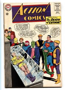 ACTION COMICS #318 comic book 1964-SUPERMAN-DEATH OF LUTHOR