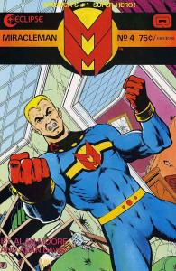 Miracleman #4 FN; Eclipse | save on shipping - details inside