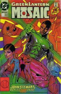 Green Lantern: Mosaic #1, VF+ (Stock photo)