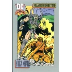 1991 DC Cosmic Cards - YUGA KHAN #141