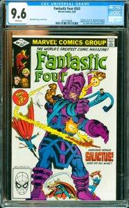 Fantastic Four #243 CGC Graded 9.6 Galactus, Terrax, Dr. Strange & Avengers (...