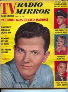 TV Radio Mirror-Pat Boone-Elvis Presley-Ed Sullivan-Garry Moore-June-1958