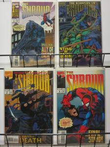 SHROUD 1-4 SPIDERMAN appearance!  Complete mini-series!