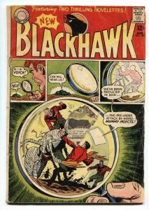 BLACKHAWK #199 1964-DC COMICS-MUMMY INSECTS SCI FI fr/gd