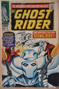 Ghost Rider #4 (1967) Scarce!