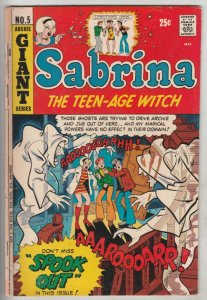 Sabrina the Teen-Age Witch #5 (Apr-72) VG+ Affordable-Grade Archie