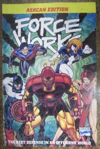 FORCE WORKS ASHCAN EDITION! (Marvel, 1994) VF/+ Abnett & Lanning!