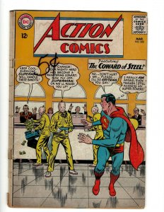 Action Comics # 322 VG- DC Comic Book Superman Batman Green Lantern Flash KD1