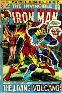 Iron Man #52 (ungraded) stock photo