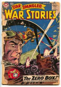 Star Spangled War Stories #79 1959- LOW GRADE DC war comic