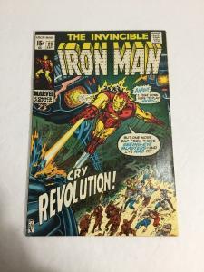 Iron Man 29 Fn Fine 6.0 Marvel Comics Bronze Age