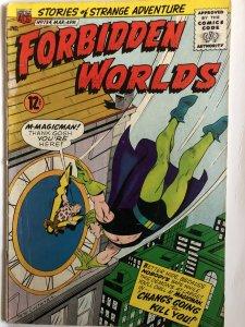 Forbidden Worlds#134,VG-F, cover/art by Constanza,Herbie!