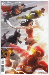 Justice League #49 Garner Variant (DC, 2020) NM