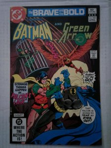 Brave and the Bold #185 VG/FN comic BATMAN ARROW